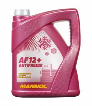 Mannol Kühlerfrostschutz AF 12 plus  (Rot) 5 kg Kanister (4,90 Preis pro KG)